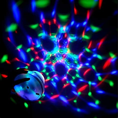 Rotating Disco Light by Seresroad 174 New Rgb Led Rgb Automatic Rotating Stage Light Disco Projector