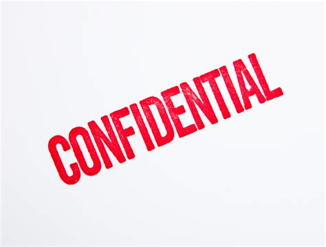 Confidential Search Confidential In A Word My Bad Side