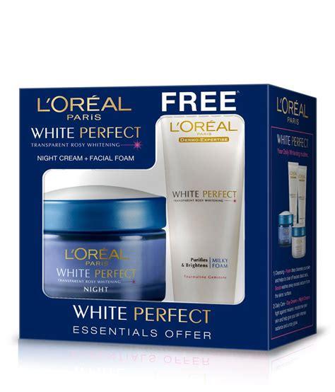 Loreal White l oreal white coffret free white foam buy l oreal white