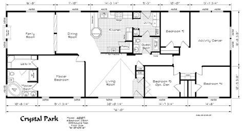 4 bedroom modular home floor plans gurus floor