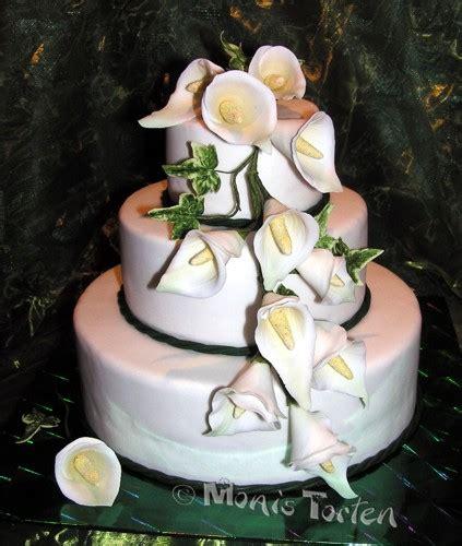 Hochzeitstorte Calla hochzeitstorte mit callas motivtorten forum chefkoch de