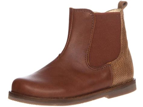 panache toddler boy boot brown leather