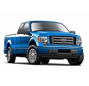 2010 Ford F150 Pickup Truck Metallic Blue Diecast Model