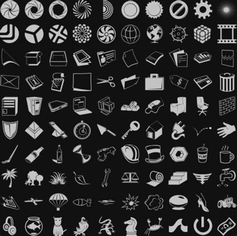 adobe photoshop shapes tutorial 1300 adobe photoshop custom shapes for download