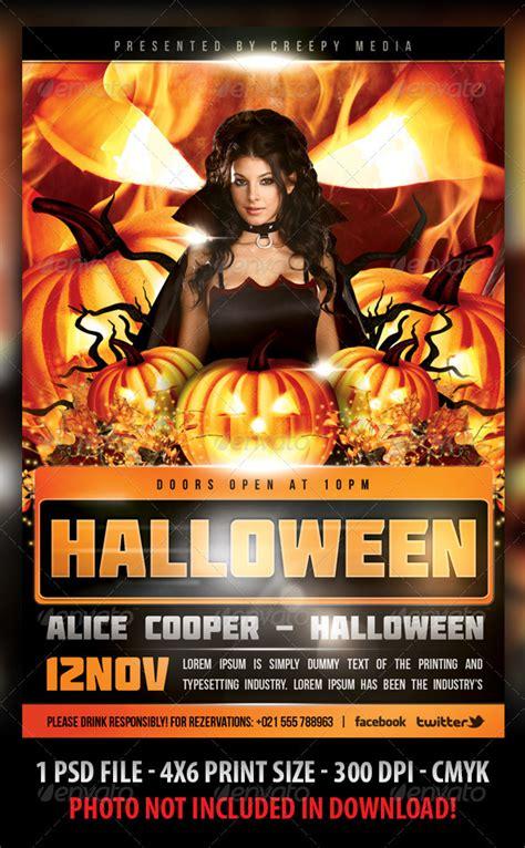 dafont molot halloween flyer graphicriver