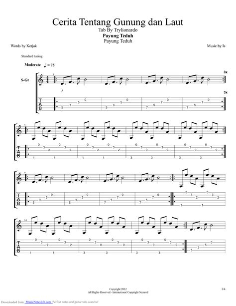 tutorial kunci gitar lagu akad chord payung teduh chord lagu payung teduh akad