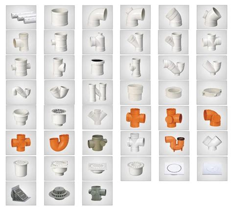 pvc pipes and fittings for drainage ty plastic pipe