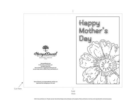 floral s day card printable printable s day cards