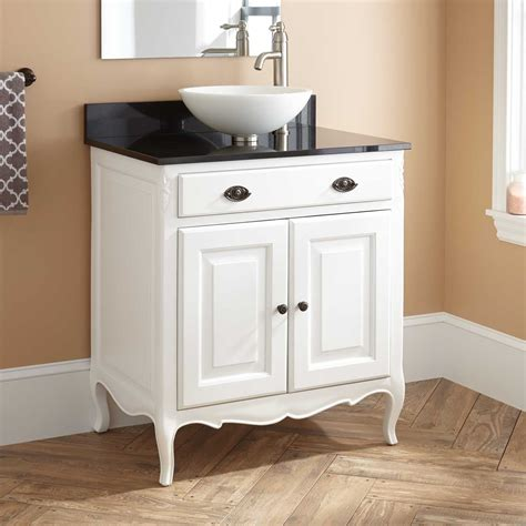 white bathroom vanity with vessel sink 30 quot waldman mahogany vessel sink vanity white bathroom
