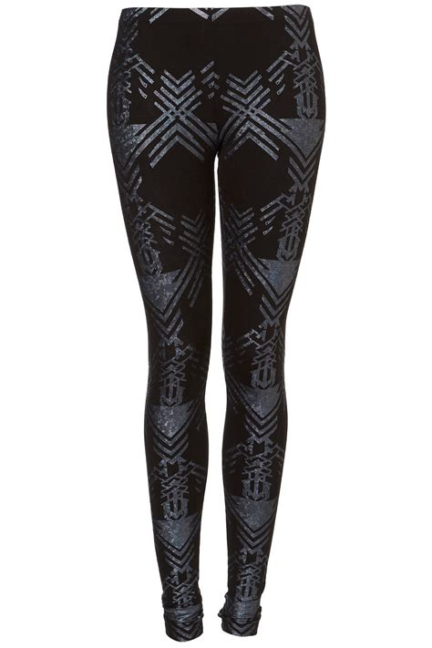 Hologram From Topshop by Topshop Holographic Print In Black Lyst