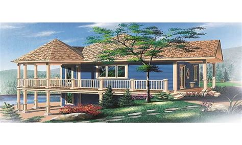 house plans on pilings raised house plans