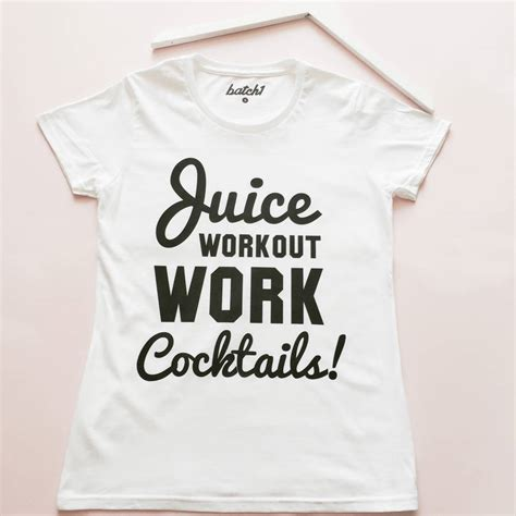 Tshirt Juice Matic Original Size L juice workout work cocktails slogan t shirt by batch1 notonthehighstreet