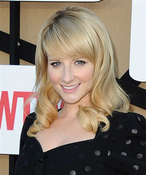 hair cuts long hair theory melissa rauch long wavy formal hairstyle