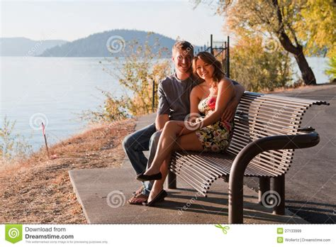 lovers bench lovers bench royalty free stock images image 27133999