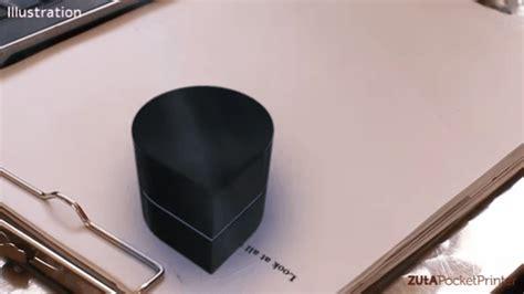 Printer Zuta zuta a portable robotic printer as small as a paperweight