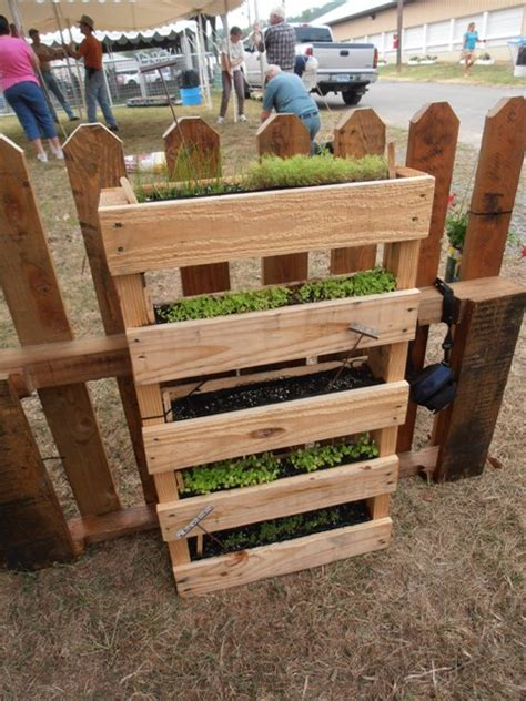 Pallet Potato Planter by Cool Container Vegetable Gardens Of Maryland