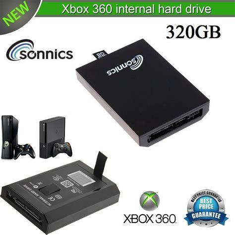 Drive Xbox 360 sonnics 320gb drive for microsoft xbox 360 slim brand new ebay