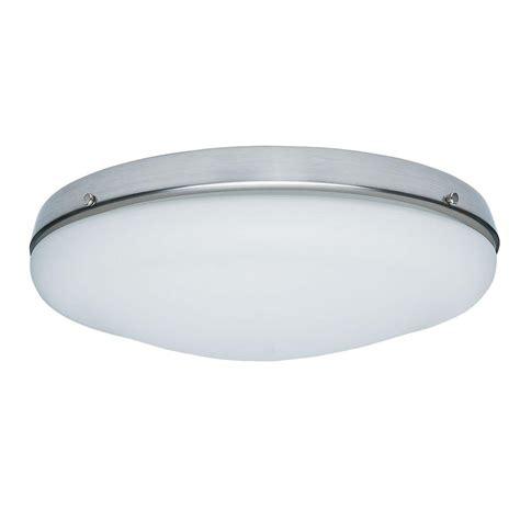Brushed Nickel Candelabra Bulbs Low Profile Light