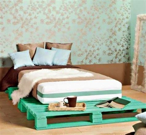 Low Rise Bed Frame 50 Best Creative Pallet Furniture Design Ideas For 2017