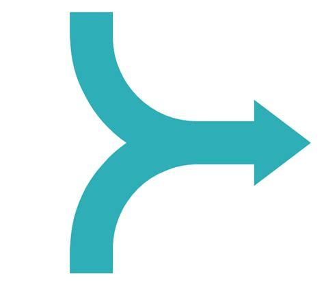 visio semicircle sales arrows vector stencils library