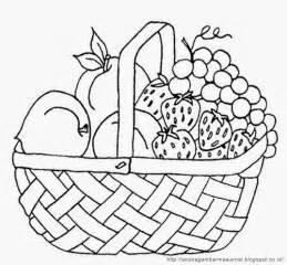 gambar mewarnai buah buahan dalam keranjang untuk anak paud dan tk aneka gambar mewarnai