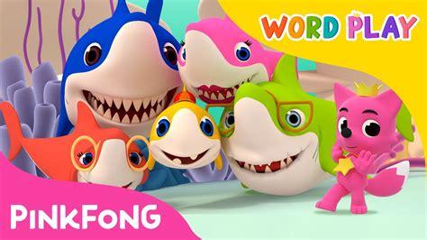 baby shark word play baby shark word play pinkfong songs for children youtube
