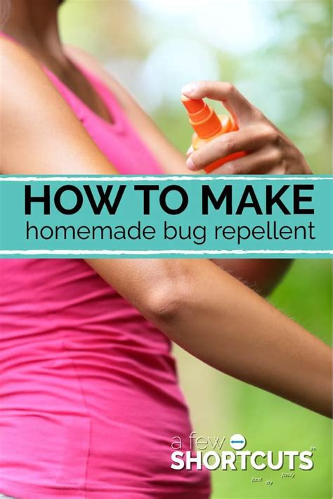 how to make a short cut on natural hair how to make homemade bug repellent a few shortcuts