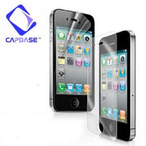 Capdase Screen Guard Imag Anti Fingerprint For Blackberry Q10 capdase klia iphone 4 and 4s screen protector