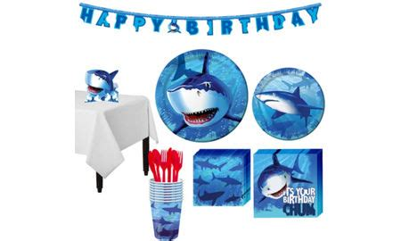 shark party supplies shark birthday decorations | party city