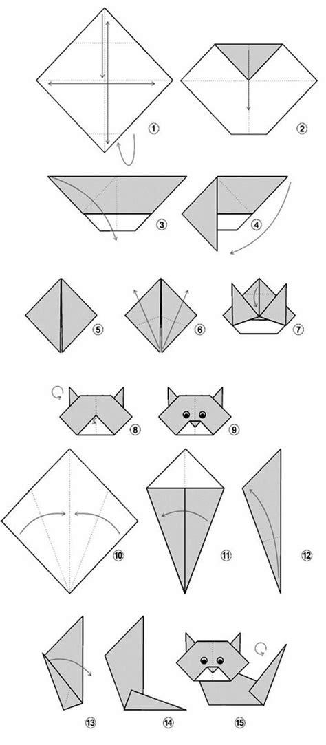 Origami Chat - mit origami papier basteln die beste origami