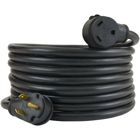 100 Foot 50 Rv Extension Cord by 25ft 30 Rv Trailer Motorhome Cer Power Extension