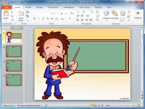 teacher education powerpoint themes and powerpoint slides