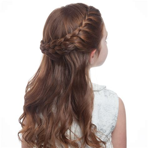 flower girls braided     hairstyle martha
