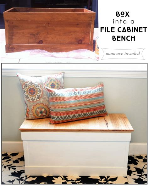 Filing Cabinet Bench by File Cabinet Bench Seat Manicinthecity