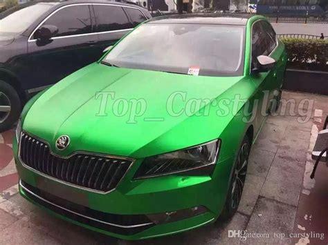 Folie Auto Verde Mat by 2018 Matte Metallic Green Vinyl Car Wrap For Car