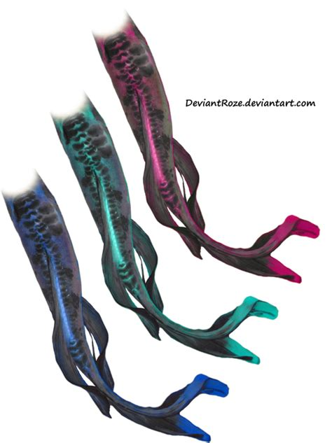 colorful mermaid tails colorful mermaid tails by deviantroze on deviantart