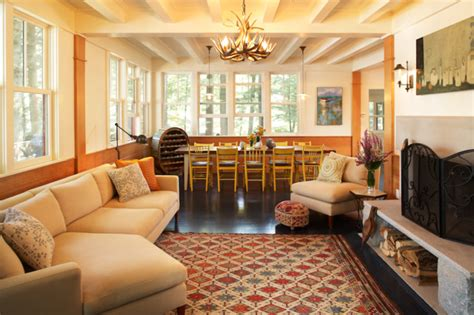 boston home magazine lake house style living