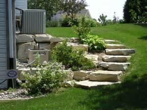 landscape design garden stairs diy home decor