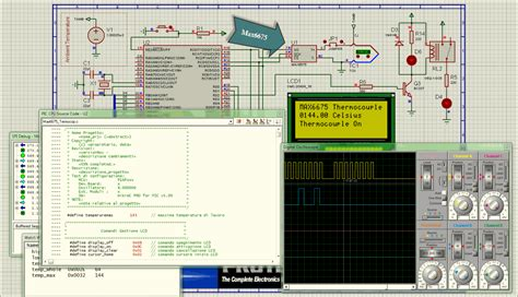 nokia pattern generator schematic besides pattern generator circuit on hex pcb