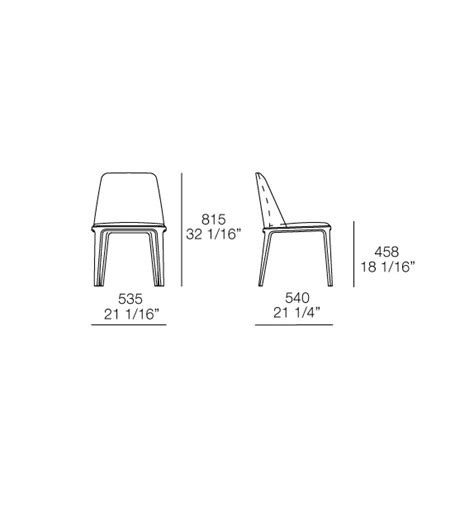sedie poliform grace sedia poliform milia shop