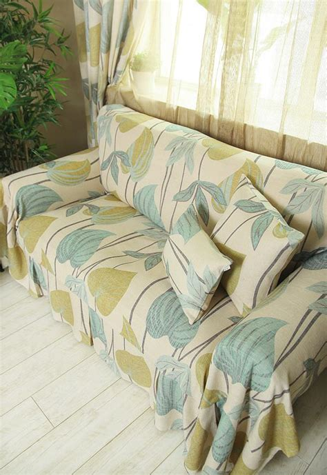 floral couch covers 2 seater shabby floral sofa couch throw cover slipcover p