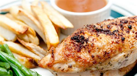 how to get crispy skin chicken breasts today com