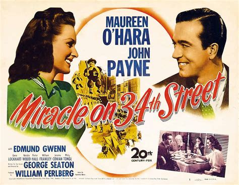 A Miracle On 34th 1947 Julie Reviews Quot Miracle On 34th Quot 1947