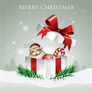 merry christmas with gift box vector image 1935440