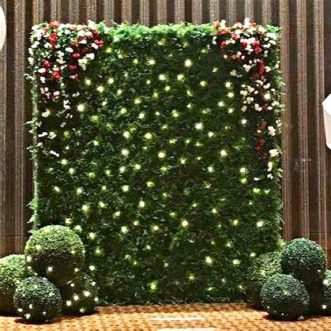 Wedding Backdrop Design For Photo Booth by Wedding Green Wall Photobooth Backdrop Design Craft