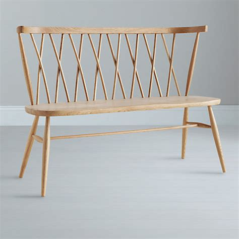 john lewis bench buy ercol for john lewis chiltern 3 seater dining bench