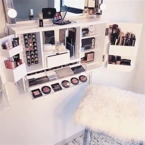 Meuble Rangement Maquillage by Astuces De Rangement Maquillage Pour R 233 Ussir L