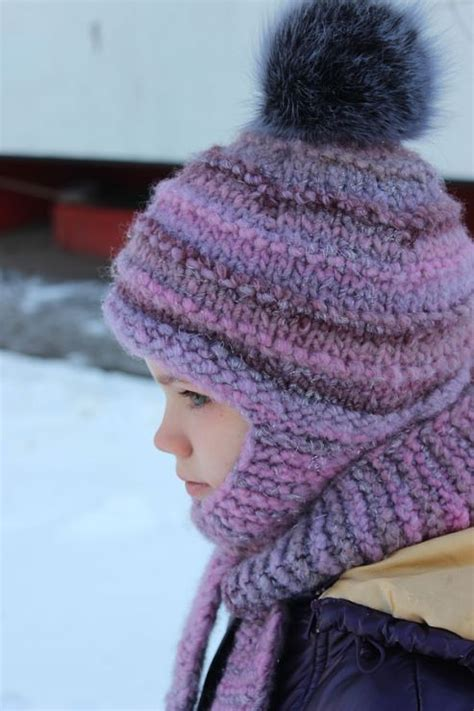 knitting patterns hat scarf combination 301 moved permanently