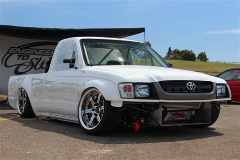 Toyota Drift Truck Stanced Toyota Hilux Is Made For Drifting Autoevolution
