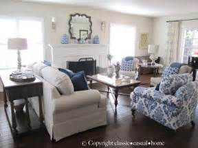 Blue And White Home Decor by Classic Casual Home Blue White And Silver Timeless